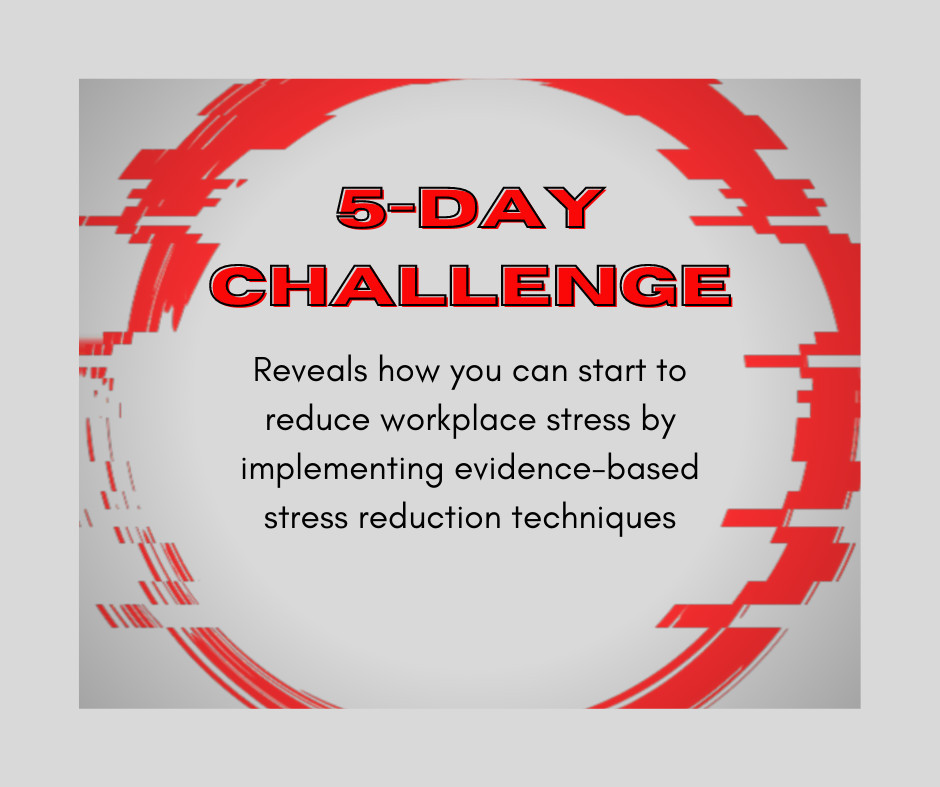 5 Day Stress Reduction Challenge
